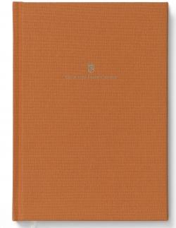 Buch mit Leineneinband A5 für Schreibmappe A5 Orange