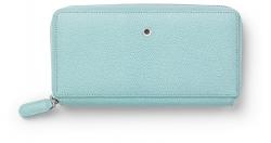 Graf von Faber Castell Damenbörse Reißverschluss Epsom Turquoise