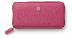 Graf von Faber Castell Damenbörse Reißverschluss Electric Pink