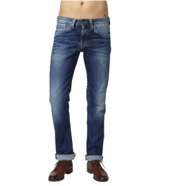 Pepe Jeans - CASH 11oz Streaky Stretch Med Herrenjeans