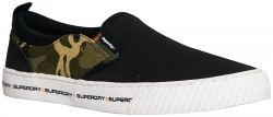 SUPERDRY INTERNATIONAL SLIP ON Black/Khaki Camo/Orange