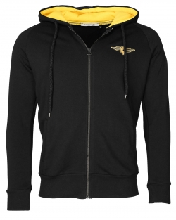 TOP GUN Bee Black Sweatjacke HOODIE