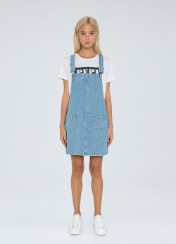 Pepe Jeans VESTA 70S Denim Kleid