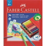 Faber Castell Buntstift Colour GRIP 36er Atelierbox