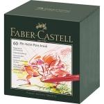 Faber Castell Tuschestift PITT artist pen brush 60er Atelierbox