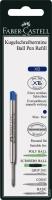 Faber Castell Kugelschreibermine blau XB 10er Set