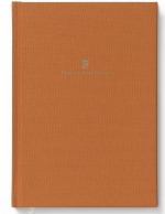 Buch mit Leineneinband A4 für Schreibmappe A4 Orange