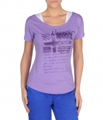 NAPAPIJRI SECURE T-Shirt sheer lilac