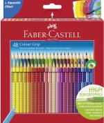 Faber Castell Buntstift Colour GRIP 48er Kartonetui