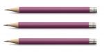 Graf von Faber-Castell Taschenbleistift für den Perfekten Bleistift Electric Pink X 3