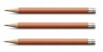 Graf von Faber-Castell Taschenbleistift für den Perfekten Burned Orange X 3