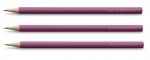 Graf von Faber-Castell 3 HOLZGEFASSTE BLEISTIFTE GUILLOCHE Electric Pink
