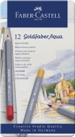 Faber-Castell Goldfaber Aqua Aquarellstift 12er Metalletui