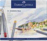 Faber-Castell Goldfaber Aqua Aquarellstift 24er Metalletui