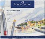 Faber-Castell Goldfaber Aqua Aquarellstift 48er Metalletui