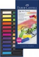 Faber-Castell Softpastellkreiden Mini 24er Kartonetui
