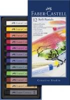 Faber-Castell Softpastellkreiden 12er Kartonetui