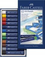 Faber-Castell Ölpastellkreide STUDIO QUALITY 12er Etui