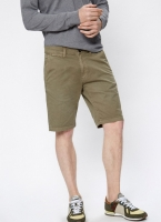 Pepe Jeans - MC QUEEN SHORT khaki green