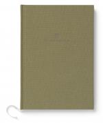 GRAF VON FABER CASTELL Buch mit Leineneinband DIN A5 OLIVE GREEN