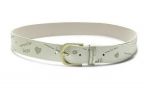 Desigual BELT TELL ME Grey Damengürtel