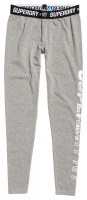 SUPERDRY - SPORT TAPE LEGGING Grey Marl