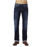 Pepe Jeans - KINGSTON ZIP 11oz Streaky Stretch DK Herrenjeans