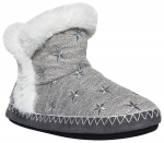 SUPERDRY - SLIPPER BOOT Grey Marl/Silver Hausschuhe