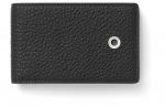 Graf von Faber-Castell Geldbörse klein Cashmere schwarz