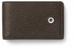 Graf von Faber-Castell Geldbörse klein Cashmere dunkelbraun