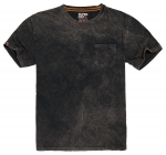 SUPERDRY SURPLUS GOODS BOX FIT TEE Washed Black