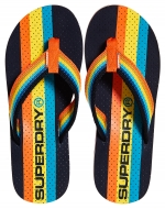 SUPERDRY TROPHY FLIP FLOP Dark Navy/Fluro Orange/Bright Blue