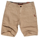 SUPERDRY INTERNATIONAL LINEN CHINO SHORT Pebble