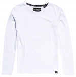 SUPERDRY PREMIUM LS TOP Bright White