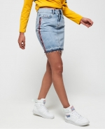 SUPERDRY DENIM MINI SKIRT Pure Blue