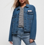 SUPERDRY TRUCKER JACKET Trucker Blue