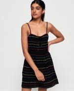 SUPERDRY TAMARA CARNIVAL DRESS Black Geo