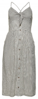 SUPERDRY JAYDE TIE FRONT MIDI DRESS Stripe