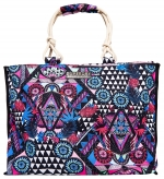 SUPERDRY AMAYA ROPE TOTE Crazy Tropical