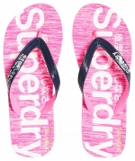 SUPERDRY SCUBA GRIT FLIP FLOP Dark Navy/Optic White