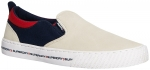 SUPERDRY INTERNATIONAL SLIP ON Off White/Navy/Red