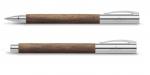 Faber-Castell Tintenroller AMBITION Nussbaum