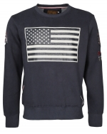 Top Gun GAME Dark Navy Sweater