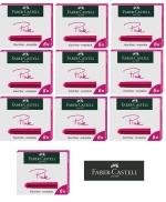 Faber-Castell 6 Tintenpatronen Standard pink x 10 Stück