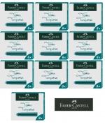Faber-Castell 6 Tintenpatronen Standard türkis x 10 Stück