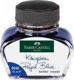 Faber-Castell Tintenglas Königsblau löschbar 30 ml