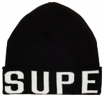 SUPERDRY URBAN LOGO BEANIE Black