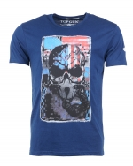Top Gun Playmaker T-Shirt Peacoat Blue