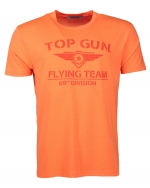 Top Gun Shining T-Shirt  Neon-Orange