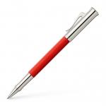 Graf von Faber-Castell Tintenroller Guilloche India Red